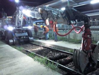 ACIERINOX ACX160W Pelle Rail-Route 20 tonnes