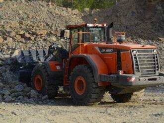 DOOSAN DL580 Chargeuse sur pneus 34-36 tonnes