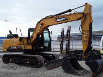 SANY SY135C – Pelle sur chenilles – 13-15 tonnes