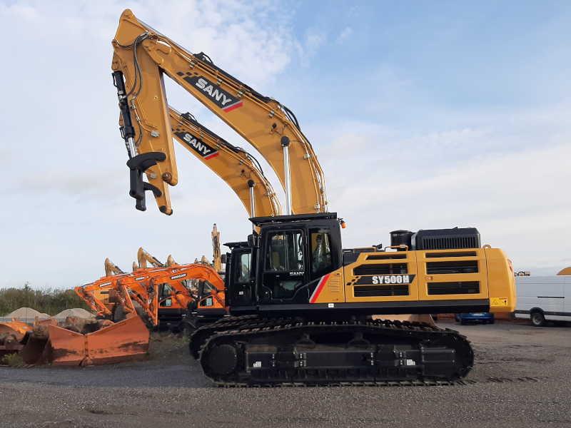 SANY SY500H Pelle sur chenilles 52-54 tonnes